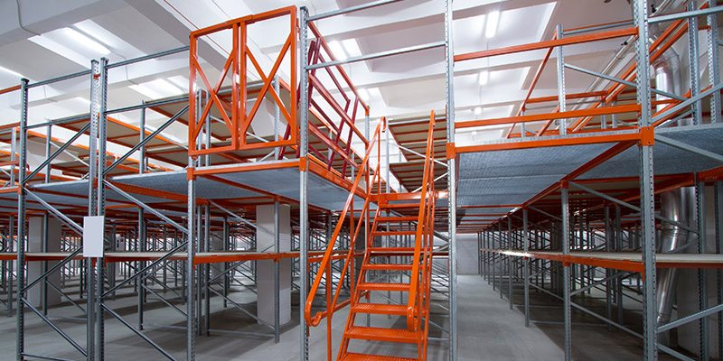 Industrial Mezzanine Floors in Statesville, North Carolina