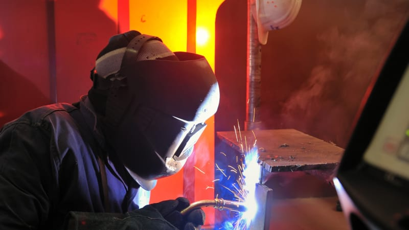 Welding Metal in Statesville, North Carolina